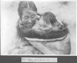 Canada. Hudson Bay. An Esquimo mother and child / 38878