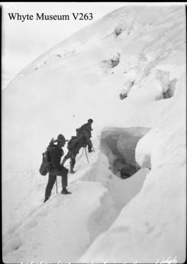 Trip to Columbia Icefield, climbing Mt. Castleguard / Lewis Freeman