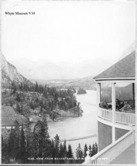1039. View from Bandstand, C.P.R. Hotel, Banff