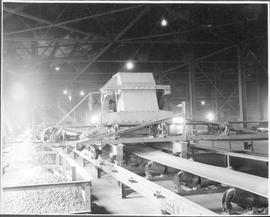Canada. Quebec Province. Noranda. Ore distributor at the Noranda Mine / CN60