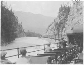 Scene along the Kicking Horse River / 27787